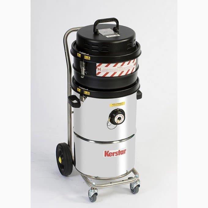 Air Powered Vacuum : Cav h air powered hazardous industrial vacuum cleaner