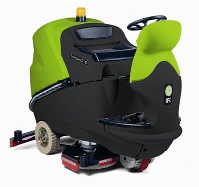 Gansow Ct160 Bt85 Ride On Scrubber Dryer