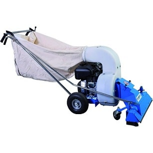 Petrol Industrial Litter Vacuum For Outdoor Areas