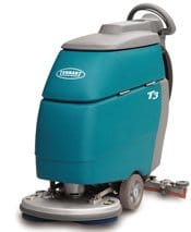 Hire the Tennant T3 walk behind scrubber dryer from £45 per week (Excl. VAT)
