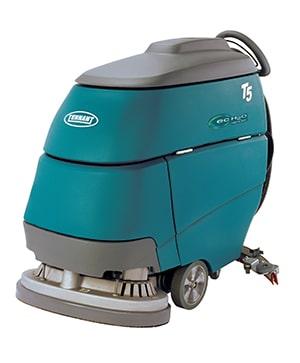 Tennant t5 70 pedestrian scrubber dryer clemas for Floor zamboni machine