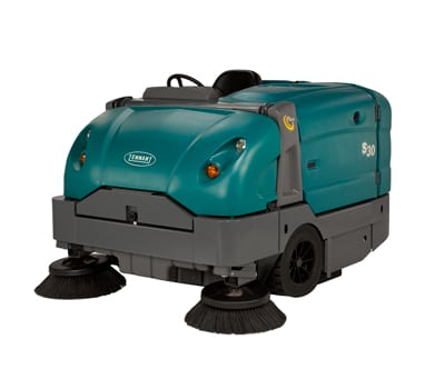 Tennant S30 Gas Ride On Sweeper