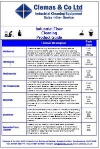 chemicals guide